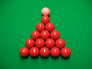 Snooker Aufbau